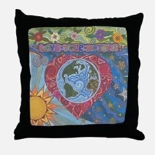 Love Your Mother Throw Pillow