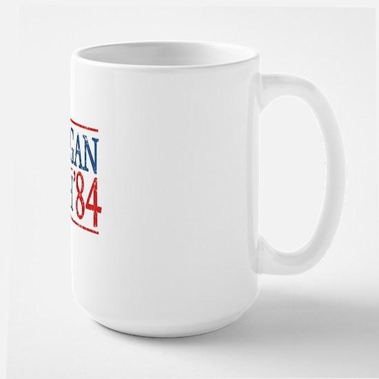 reagan bush 84 t shirt Large Mug