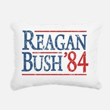 reagan bush 84 t shirt Rectangular Canvas Pillow