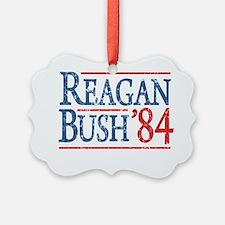 reagan bush 84 t shirt Ornament