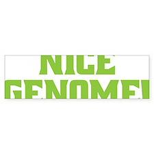 genome Bumper Sticker