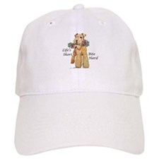 Bite Hard Lakeland Terrier Baseball Baseball Cap