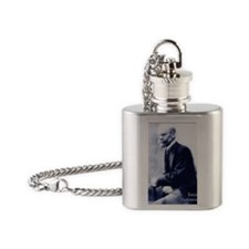 Emile Durkheim Flask Necklace