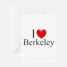 """I Love Berkeley"" Greeting Cards (Pk of 10)"