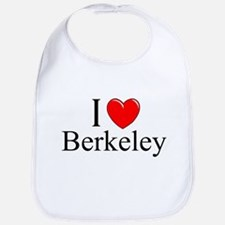 """I Love Berkeley"" Bib"