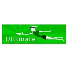 Ultimate Frisbee Bumper Bumper Sticker