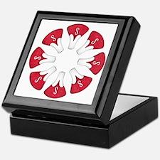Schwinn Flower - Red Keepsake Box