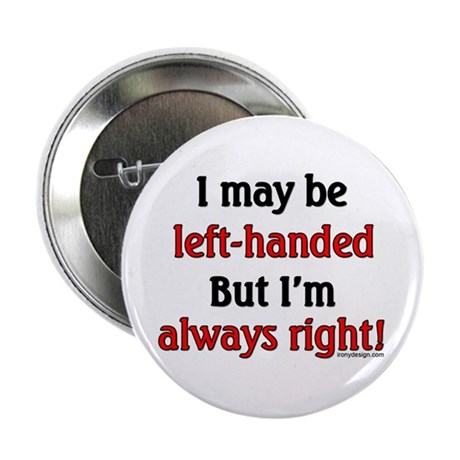 """Left-Handed 2.25"""" Button (10 pack)"""