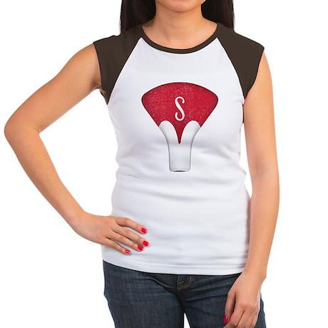 Schwinn Red Seat Women's Cap Sleeve T-Shirt