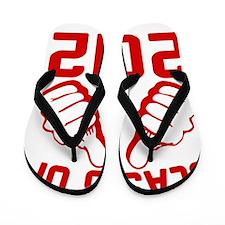 thisguy-2012-red Flip Flops