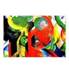 Franz Marc - Small Compos Postcards (Package of 8)