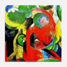 Franz Marc - Small Composition III Tile Coaster