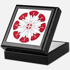 Schwinn Flower - Red 2 Keepsake Box