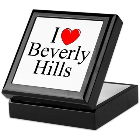 """I Love Beverly Hills"" Keepsake Box"