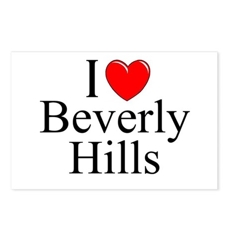 """""""I Love Beverly Hills"""" Postcards (Package of 8)"""
