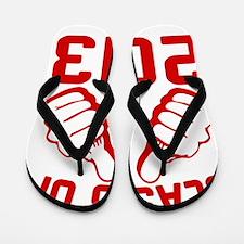 thisguy-2013-red Flip Flops