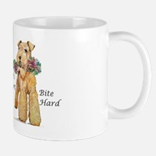 Welsh Terrier Bite! Small Small Mug