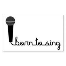 borntosing Decal