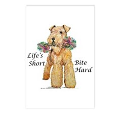 Welsh Terrier Bite! Postcards (Package of 8)