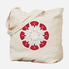 Schwinn Flower - Red Tote Bag