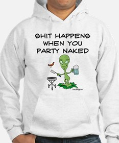 Shit Happens Naked Hoodie