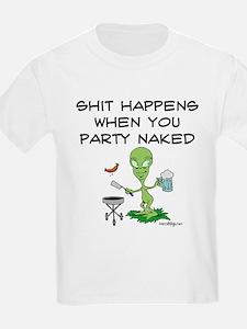 Shit Happens Naked T-Shirt