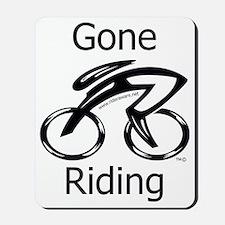 Gone_riding Mousepad