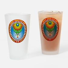 april11_eyes Drinking Glass