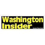 Washington Insider Bumper Sticker