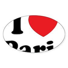 IloveParis1 Decal