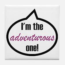 Im_the_adventurous Tile Coaster