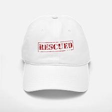 My Favorite Breed Is Rescued Baseball Baseball Cap
