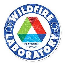 WildfireLab Round Car Magnet