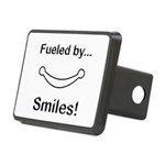 Fueled by Smiles Rectangular Hitch Cover