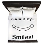 Fueled by Smiles King Duvet
