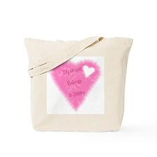 My Heart Belongs To Daddy Tote Bag
