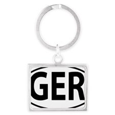 GER Landscape Keychain