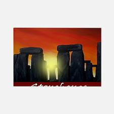 stonehenge-poster2 Rectangle Magnet