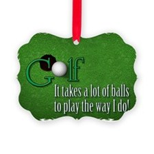 golfballs Ornament