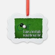 golfballs Ornament