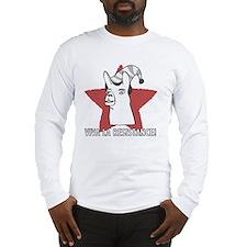 Llamas-D9-WhiteApparel Long Sleeve T-Shirt