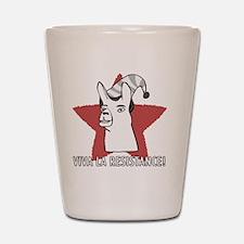 Llamas-D9-WhiteApparel Shot Glass