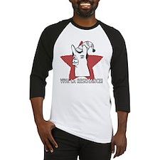 Llamas-D9-WhiteApparel Baseball Jersey