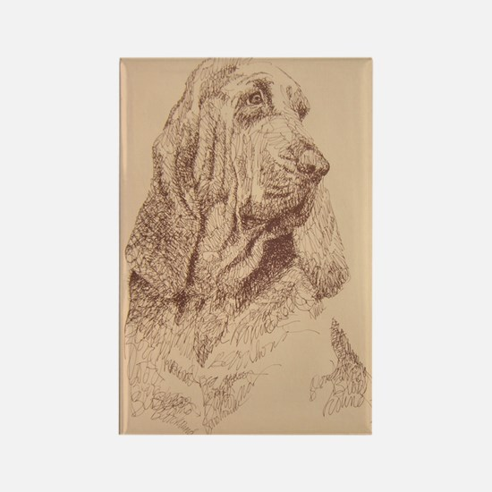 Bloodhound_KlineZ Rectangle Magnet
