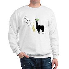 Llamas-D12-WhiteApparel Sweatshirt