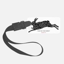 year of the rabbit tee Luggage Tag