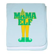 Mama Elf baby blanket