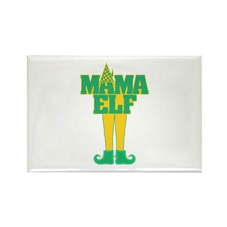 Mama Elf Rectangle Magnet (100 pack)