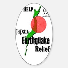 Japan Earthquake Relief Note Book Decal