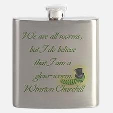 Glow Worn Winston Flask